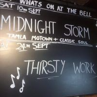 Music this September at the Bell